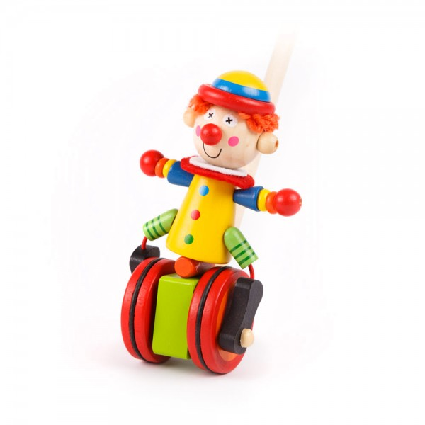 Schiebefigur Clown