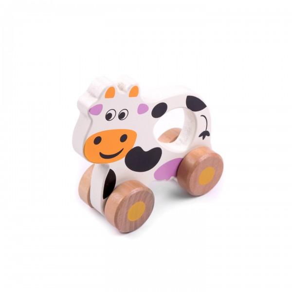 Kuh auf Rollen