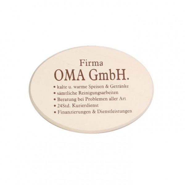 """Spruchbrett """"Oma GmbH"""""""