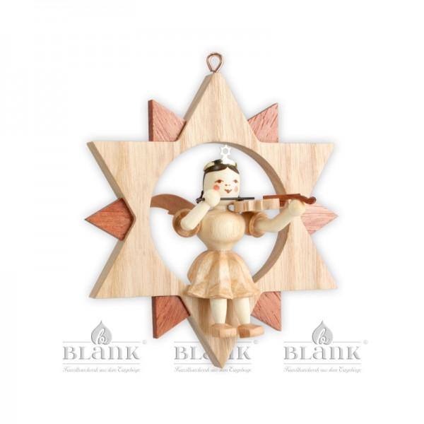 Engel im Stern mit Violine