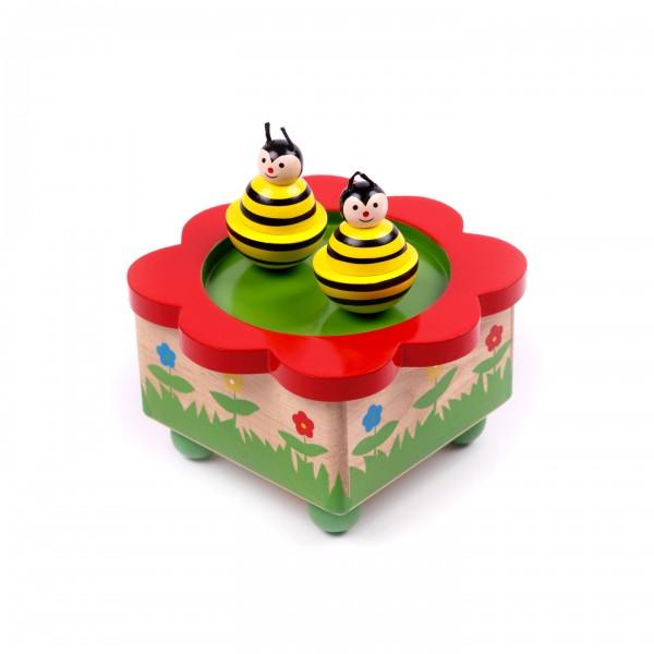 Spieluhr mit Bienen