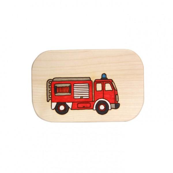 Frühstücksbrett Feuerwehr