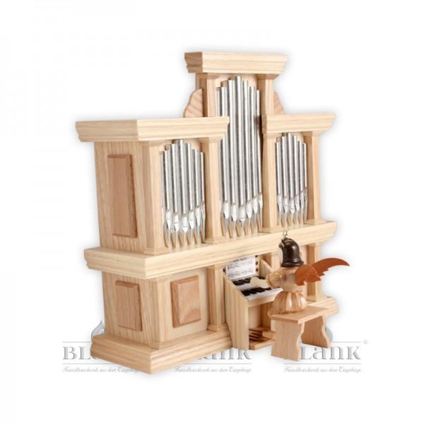 Kurzrockengel an der Orgel