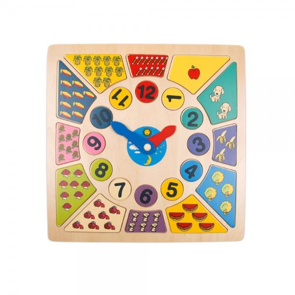 Lernuhr Puzzle