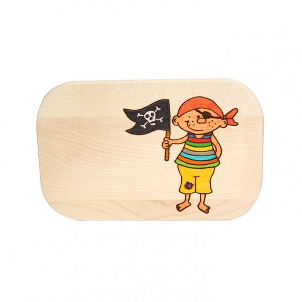 "Frühstücksbrett ""Pirat"""
