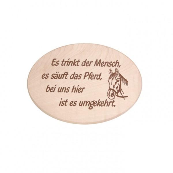 """Spruchbrett """"Pferd"""""""