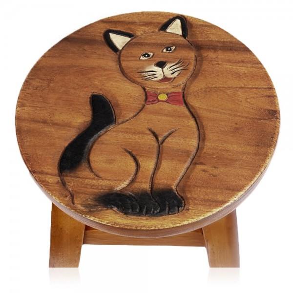 """Hocker """"Katze sitzt"""""""