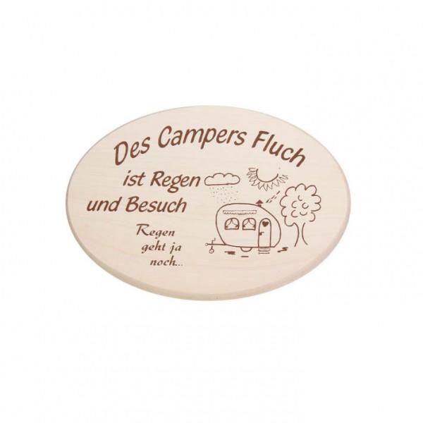 """Spruchbrett """"Campers Fluch"""""""