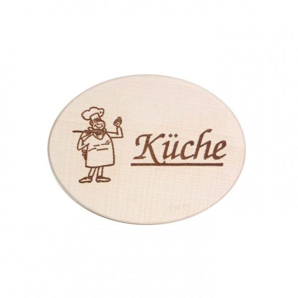 """Türschild """"Küche"""""""