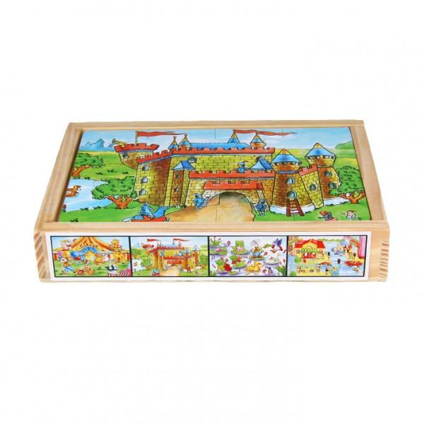 "Puzzle 4-teilig ""Burg & Co."""