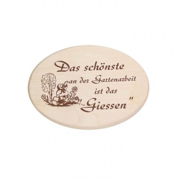 """Spruchbrett """"Gartenarbeit"""""""