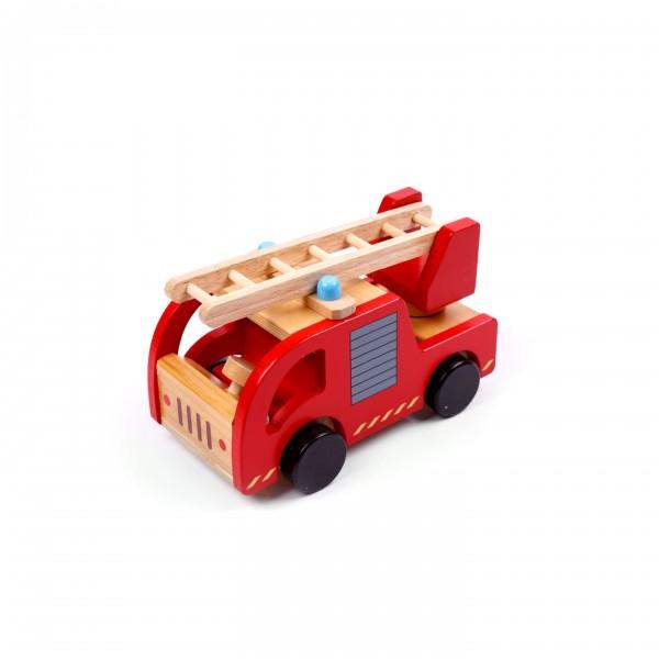 Feuerwehrwagen mit Leiter