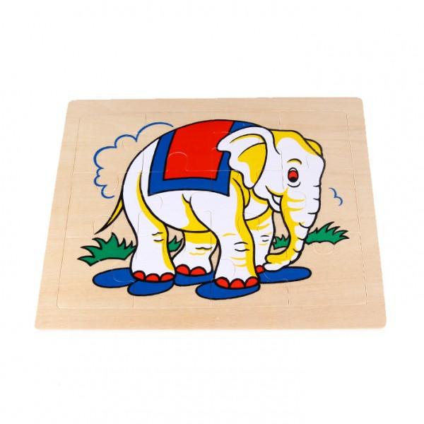 "Puzzle ""Elefant"""