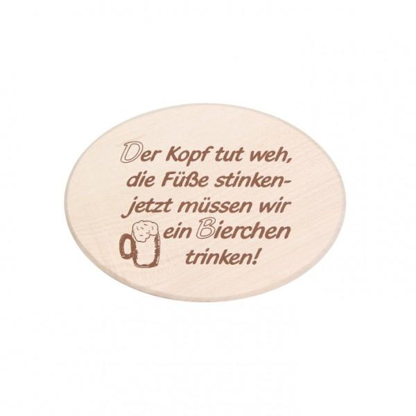 """Spruchbrett """"Bierchen"""""""
