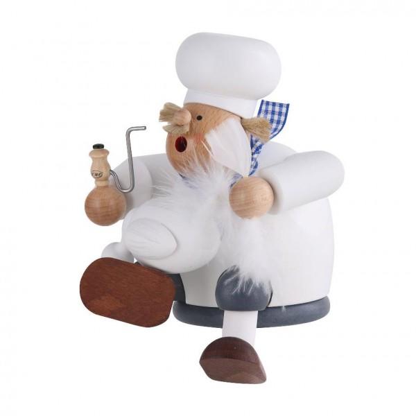 Räuchermann Koch mit Gans