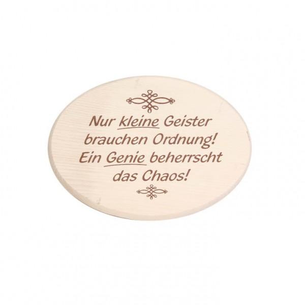 """Spruchbrett """"Kleine Geister"""""""