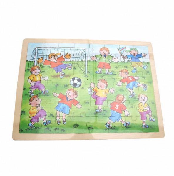 Fußballpuzzle