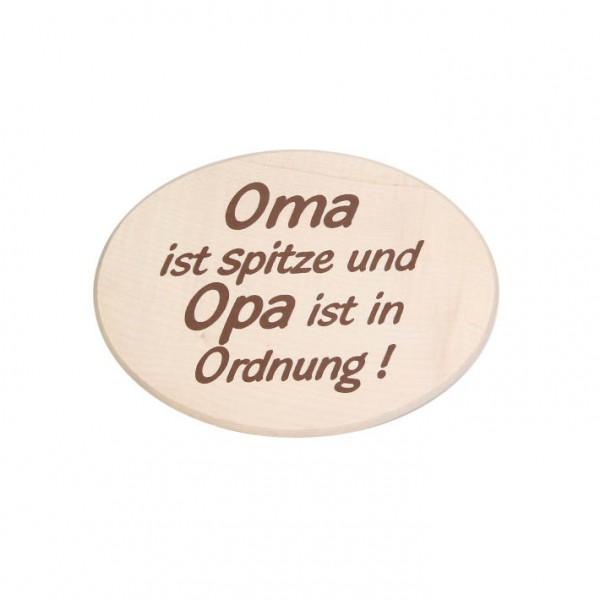 """Spruchbrett """"Oma ist spitze"""""""